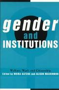 Gender and Institutions Welfare, Work and Citizenship