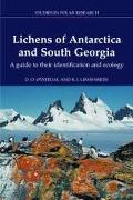 Lichens of Antarctica and South Georgia A Guide to Their Identification and Ecology