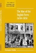 Rise of the English Town, 1650-1850