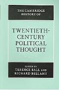 Cambridge History of Twentieth-century Political Thought