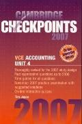 Accounting 2007 Unit 4