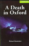 Death in Oxford Starter/Beginner