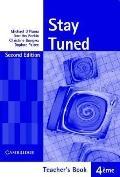 Stay Tuned Teacher's Book For 4 éme