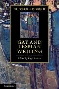 Cambridge Companion to Gay and Lesbian Writing
