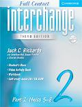 Interchange Full Contact Level 2 Units 5-8, Vol. 2