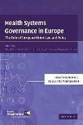 Health Systems Governance in Europe: The