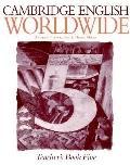 Cambridge English Worldwide Teacher's book 5, Vol. 5 - Andrew Littlejohn - Paperback