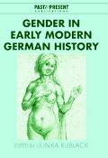 Gender in Early Modern German History
