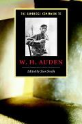 Cambridge Companion To W. H. Auden