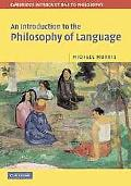 Introduction to the Philosophy of Language
