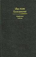 KJV Giant Print New Testament Black Hardcover KJ481N