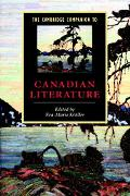Cambridge Companion to Canadian Literature