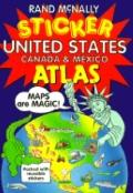 United States / Canada / Mexico Sticker Atlas (Rand McNally for Kids)