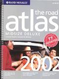 Rand McNally Midsize Deluxe Road Atlas 2002 United States, Canada & Mexico  Midsize