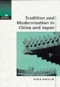 Tradition+modernization in China+japan