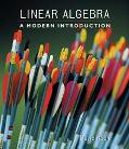 Linear Algebra A Modern Introduction