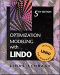 Optimization Modeling With Lindo