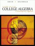 College Algebra A Contemporary Approach