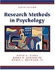 Research Methods in Psychology With Infotrac