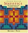 Statistics: The Exploration and Analysis of Data (with CD-ROM)