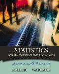 Statistics for Management and Economics With Infotrac Abbreviated