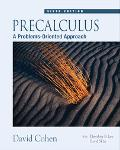 Precalculus A Problems-oriented Approach
