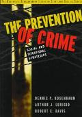 Prevention of Crime Social and Situational Strategies
