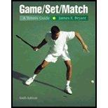 Game/Set/Match A Tennis Guide