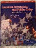 American Government and Politics Today 2001-2002/With Infotrac