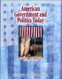 American Government and Politics Today 2003-2004 With Infotrac