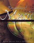 Foundations of Music With Cd-Rom