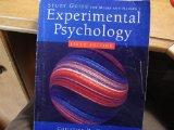 Study Guide for Experimental Psychology 6th ed