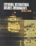 Exploring International Business Environments