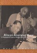 African American Music A Philosophical Look at African American Music in Society