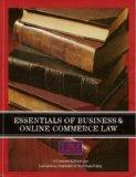 Essentials of Business & Online Commerce Law (Custom Edition for Laboratory Institute of Mer...