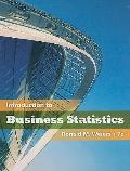 Introduction to Business Statistics (with Bind-In Printed Access Card)