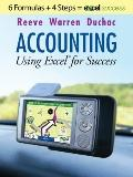 Accounting Using Excel  for Success (with Premium Support Web Site 2-Semester Printed Access...