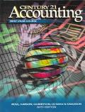 Century 21 Accounting First-Year Course