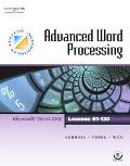 Advanced Word Processing Microsoft Word 2002