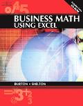 Business Math Using Excel 8.0