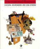 International Business: Cultural Sourcebook and Case Studies