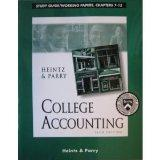 College Accounting: Study Guide/Working Papers, Chapters 1-15