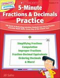 5-Minute Fractions & Decimals Practice: 180 Quick & Motivating Activities Students Can Use t...