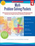 Math Problem-Solving Packets: Grade 4 : Mini-Lessons for the Interactive Whiteboard with Rep...