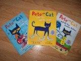 Pete the Cat Set (Pete the Cat I Love My White Shoes, Pete the Cat Rocking in My School Shoe...
