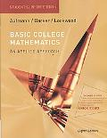 Aufmann Basic College Math Student Support Edition Eighth Edition