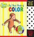 Curious Baby My First Book of Color (Curious George Accordion-Fold Board Book) (Curious Baby...