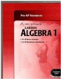 HOLT McDOUGAL LARSON ALGEBRA 1, COMMON CORE EDITION--Pre-AP Resources