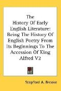 History of Early English Literature