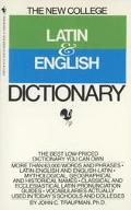 New College Latin+english Dict.